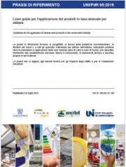 UNI/PdR 65:2019 Linee guida applicazione prodotti in lana minerale