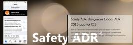 Safety ADR 2015: a breve l'app aggiornata ad ADR 2015