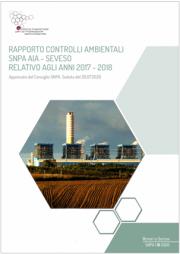 Rapporto controlli ambientali SNPA AIA - SEVESO | 2017-2018
