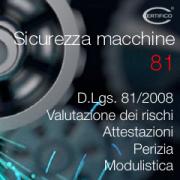 Certifico Sicurezza macchine 81: Ed. 6.0 2020