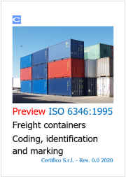 ISO 6346 Freight containers - Coding, identification and marking