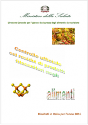 Controllo ufficiale residui prodotti fitosanitari negli alimenti