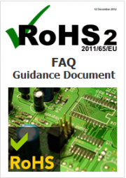 RoHS II FAQ Guidance Document