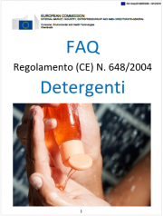 FAQ Regulation (EC) No 648/2004 on detergents