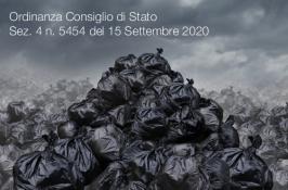 Ordinanza Consiglio di Stato Sez. 4 n. 5454 del 15 Settembre 2020