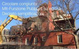Circolare congiunta Mit-Funzione Pubblica su edilizia | Decreto semplificazioni