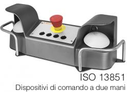 ISO 13851 | Dispositivi di comando a due mani