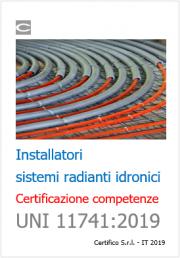 Certificazione competenze installatori sistemi radianti | UNI 11741
