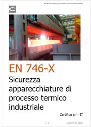 EN 746-1 Sicurezza apparecchiature di processo termico industriale