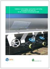 Guidance design construction testing rail tank cars transport chemicals bulk