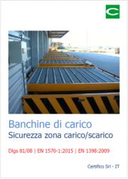 Banchine di carico - Sicurezza zona carico/scarico
