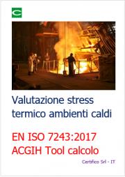 Valutazione stress termico ambienti caldi