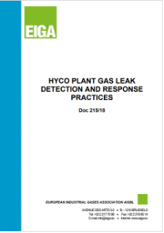 HYCO Plant Gas Leak Detection and Response Practices