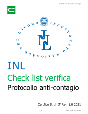 Check list verifica