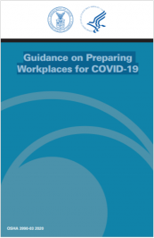 Guidance on Preparing Workplaces for COVID-19 | OSHA