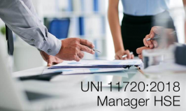 UNI 11720:2018 | Manager HSE