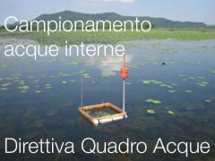 Direttiva Quadro acque: Campionamento delle acque interne