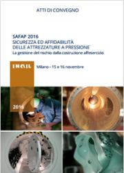 Safap 2016: Sicurezza ed affidabilità delle attrezzature a pressione