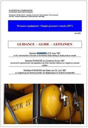 The guidelines about Simple Pressure Vessels Directive (SPVD)