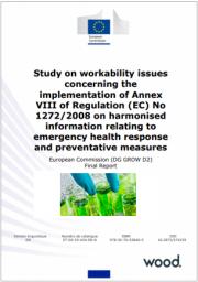 Relazione UE: CLP Informazioni armonizzate risposta emergenza sanitaria