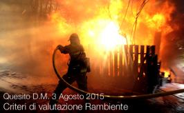 Quesito D.M. 3 Agosto 2015 | Criteri di valutazione Rambiente