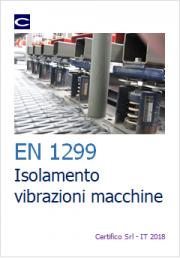 EN 1299 Isolamento vibrazionale dei macchinari