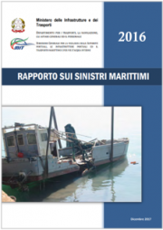 Rapporto sui sinistri marittimi 2016