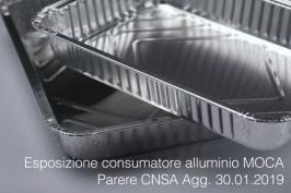Esposizione consumatore alluminio contatto alimentare | Agg. 30.01.2019