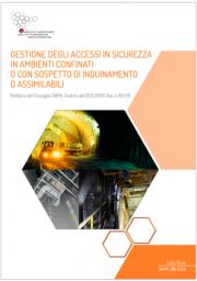 Linee guida SNPA 26/2020 | Gestione accessi in sicurezza in ambienti confinati