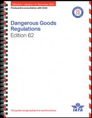 Dangerous Goods check list / Documentation 62th IATA DGR 2021