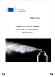Evaluation of the Aerosol Dispensers Directive | 2018