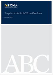 Requirements for SCIP notifications