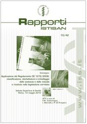 CLP - Classificazione, etichettatura e imballaggio delle sostanze e delle miscele