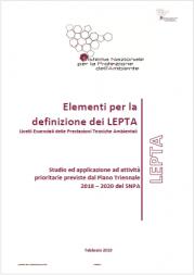 Elementi per la definizione dei LEPTA
