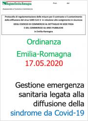 Ordinanza Emilia-Romagna del 17.05.2020