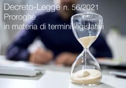 Decreto-Legge 30 aprile 2021 n. 56