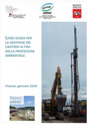 Linee guida gestione dei cantieri ai fini della protezione ambientale | 2018