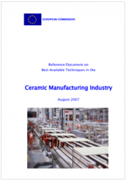 BREF Ceramic Manufacturing Industry