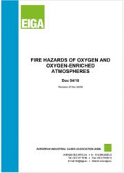 Pericoli di incendio atmosfere arricchite di ossigeno