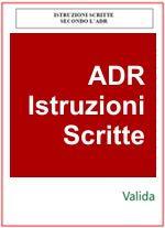 ADR 2013 Modello Istruzioni scritte Cap. 5.4.3