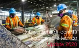 Quiz verifiche di idoneità del Responsabile tecnico | Update 2020