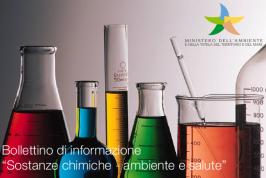 Bollettino informazione MATTM - Sostanze chimiche - Ambiente e salute