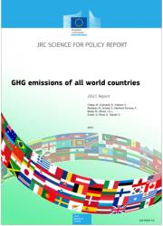 GHG emissions of all world - 2021