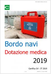 Elenco della dotazione medica a bordo navi