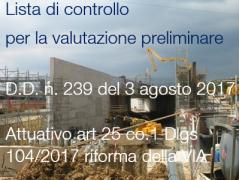 Decreto direttoriale n. 239 del 3 agosto 2017