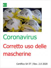 Coronavirus: Corretto uso delle mascherine