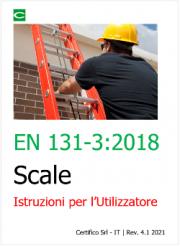 EN 131-3 Scale - Istruzioni per l'Utilizzatore