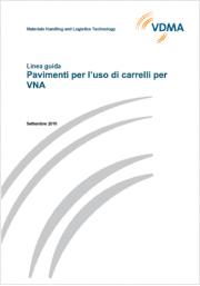 Linea guida pavimenti per l'uso di carrelli per VNA