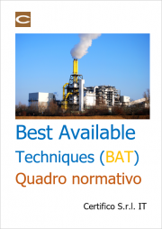 Best Available Techniques (BAT): Quadro normativo