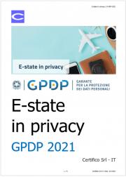 E-state in privacy | GPDP 2021